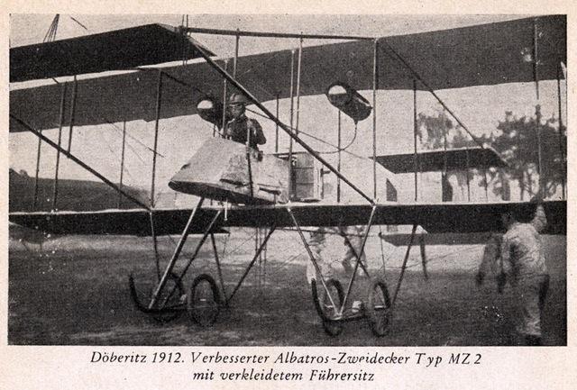 Albatros MZ 2  - Wikipedia - wersja lądowa
