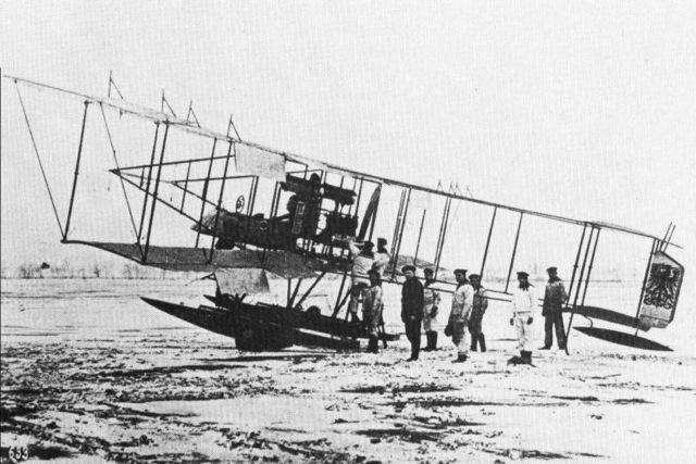 """Albatros WMZ - Alex Imrie \""""German Naval Air Service\"""""""