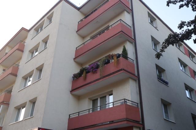 Ulica Kartuska - najpiękniejszy w Gdańsku balkon