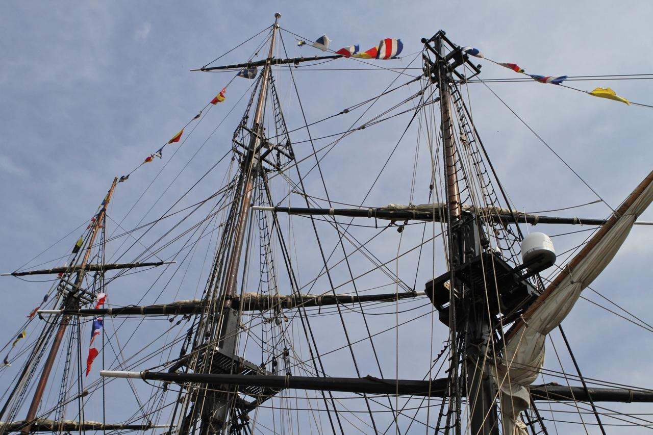 HMS Bounty w Gdańsku