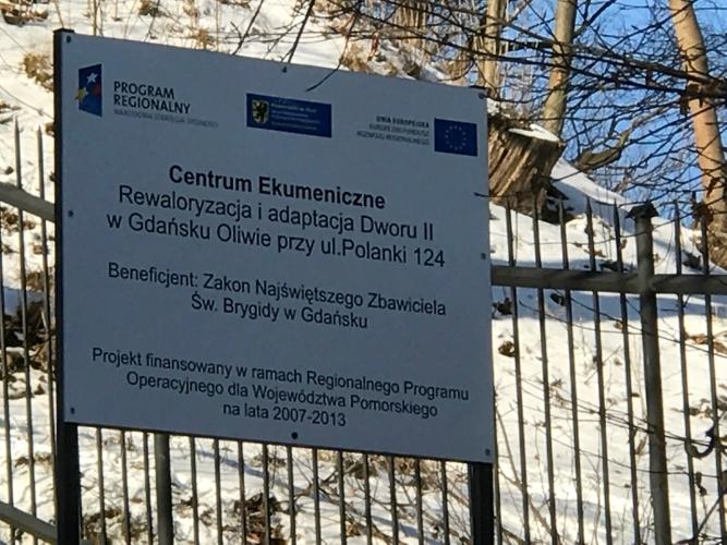 Centrum Ekumeniczne w Gdańsku Oliwie