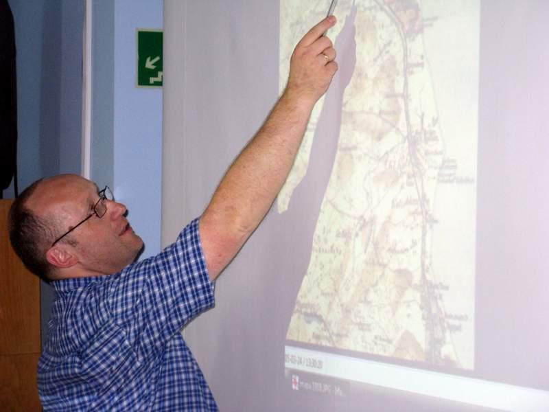Podczas wykładu TomaszaRembalskiego