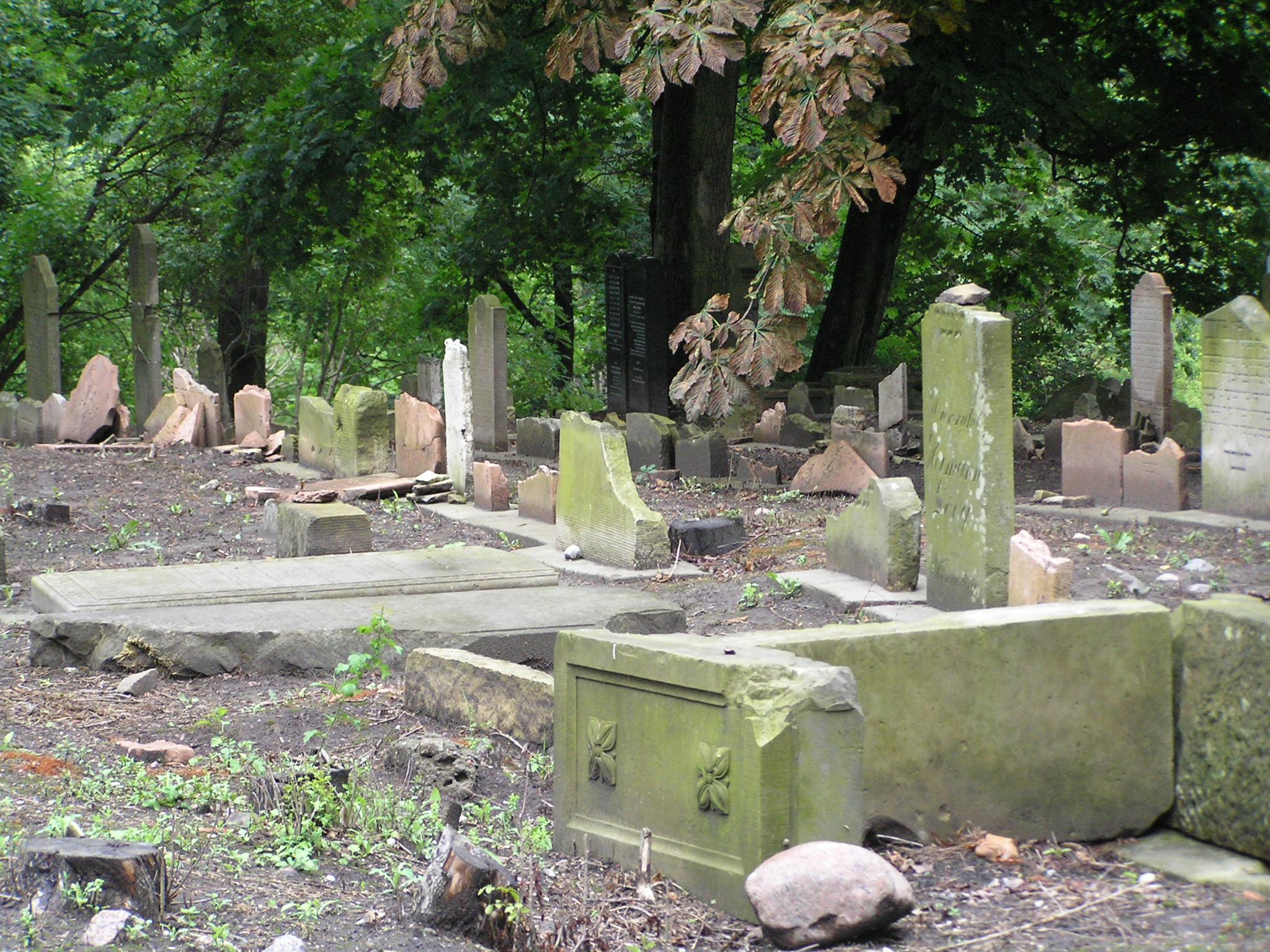 Cmentarz Żydowski w Gdańsku 2010 r.