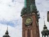 Demontaż hełmu Ratusza Głównego Miasta