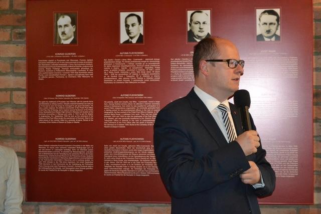 Dieter Schenk w Gdańsku