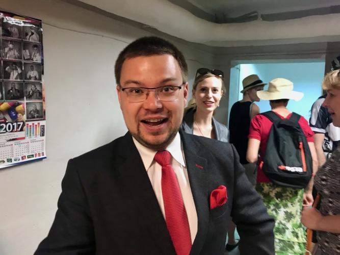 Mecenas i przewodnik - Arkadiusz Zygmunt