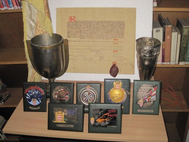 Medale i puchary ze zbiorów Automobilklubu Morskiego