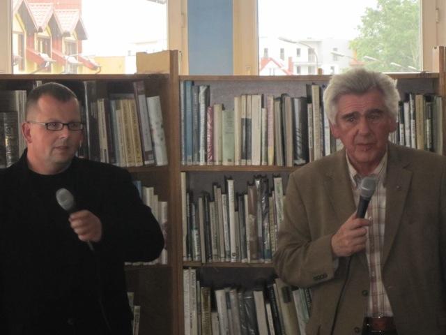 Bartosz Gondek i Jerzy Piotrowicz