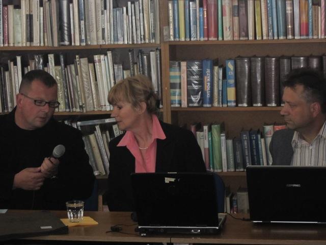 Bartosz Gondek Małgorzata Sokołowska i Jerzy Piotrowicz