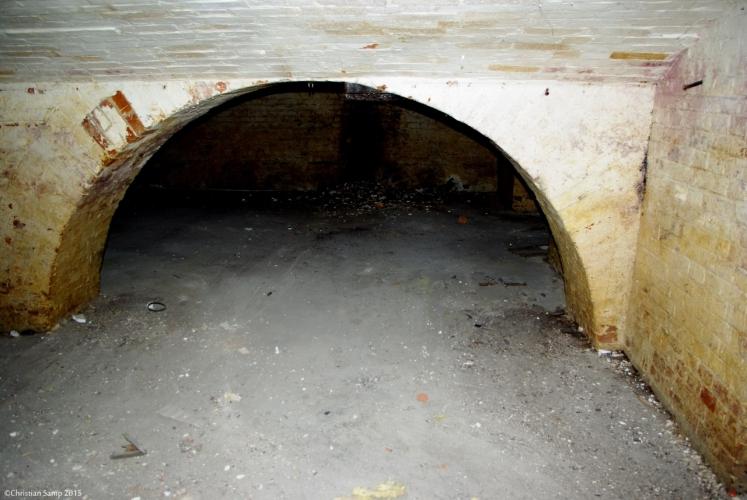 Część podziemna pod terenem byłego dworca