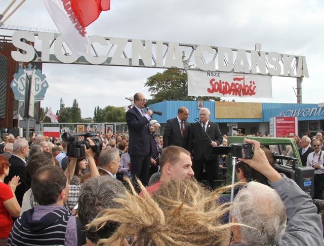 Europejskie Centrum Solidarności - otwarcie