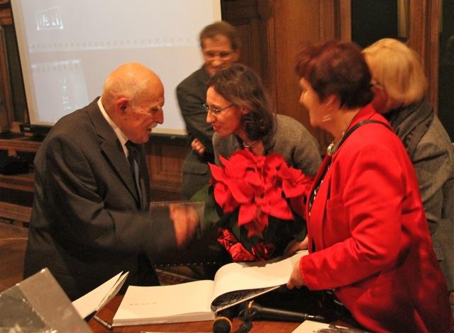 Promocja albumu ze zdjęciami zrujnowanego Gdańska