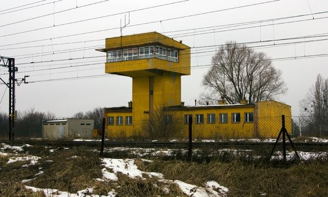 Nastawnia stacji w Olszynce