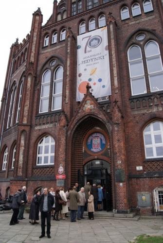 I LO w Gdańsku - 70 lat