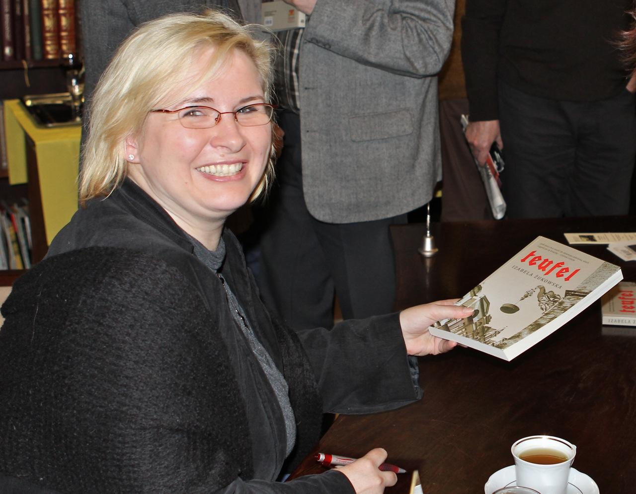 Izabela Żukowska w Filii Gdańskiej