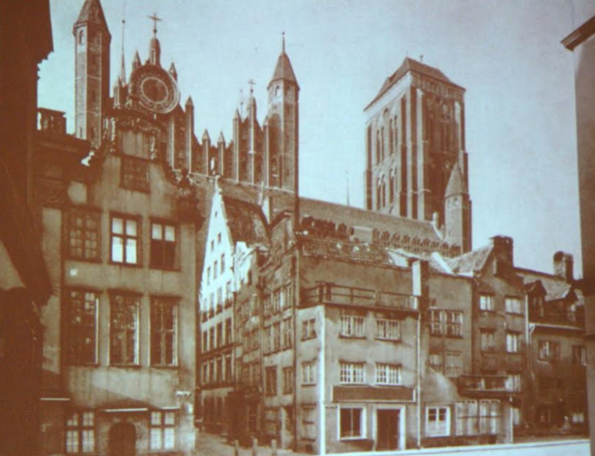 ulica św. Ducha w Gdańsku
