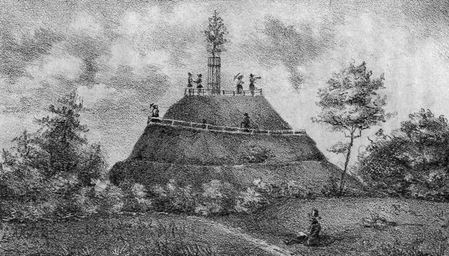 Królewskie Wzgórze w połowie XIX w.