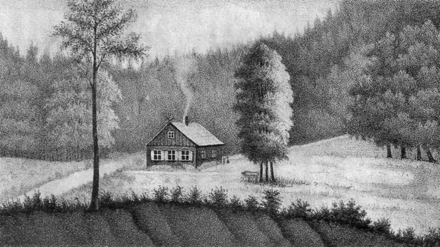 Pierwsza leśniczówka w Jaśkowej Dolinie