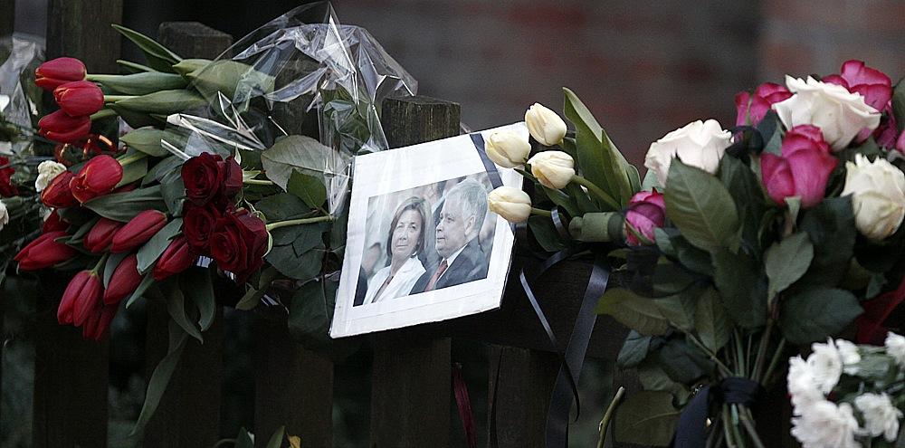 Pod domem Marii i Lecha Kaczyńskich w Sopocie