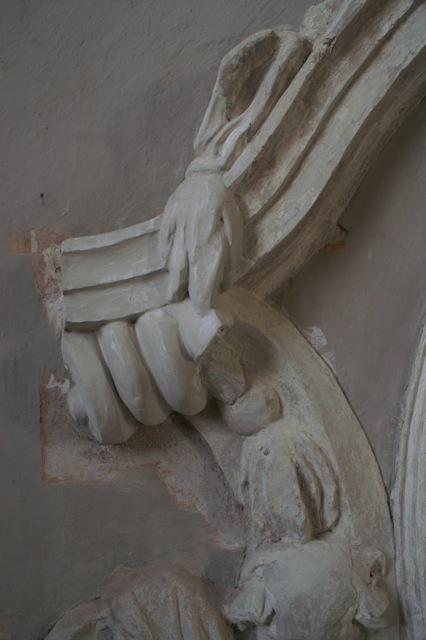 Postęp prac konserwatorskich w kaplicy św. Jacka kościoła św. Mikołaja w Gdańsku