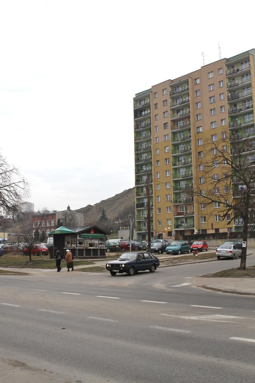 Skrzyżowanie ul. Kartuskiej i... Kartuskiej
