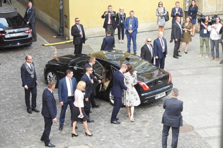 Para książęca w Gdańsk / Fot. Zdzisław Piekut