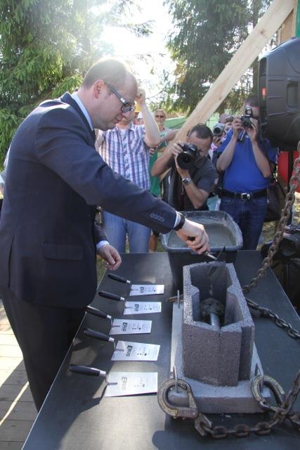 Gdańsk Kokoszki - spotkanie z prezydentem