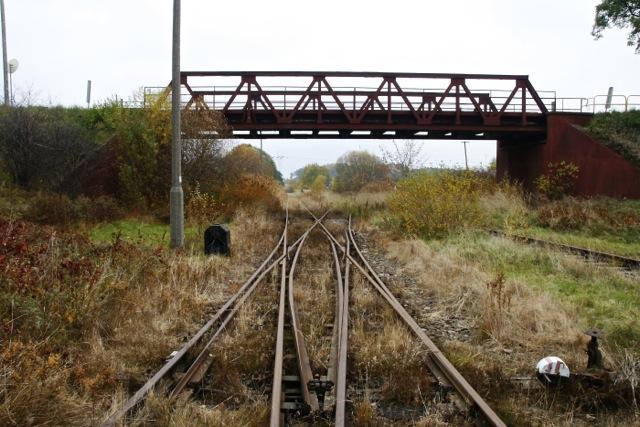 Kolejowy szlak w Gdańsku