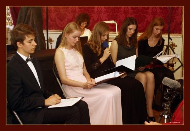 Czytanie wspomnień: Wspomnienia Bohaterek czytali młodzi artyści