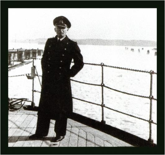 Henry Heinsohn, ojciec prof. Gunnara Heinsohna. Zima 1939 rok na Bałtyku