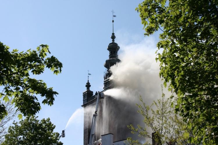 kościół św. Katarzyny - pożar