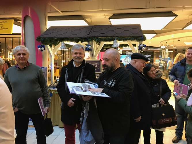 Fot. Kosycarz - promocja albumu grudzień 2016 r.