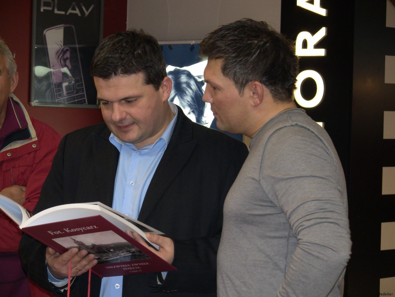 Wiceprezydent Sopotu z bokserem