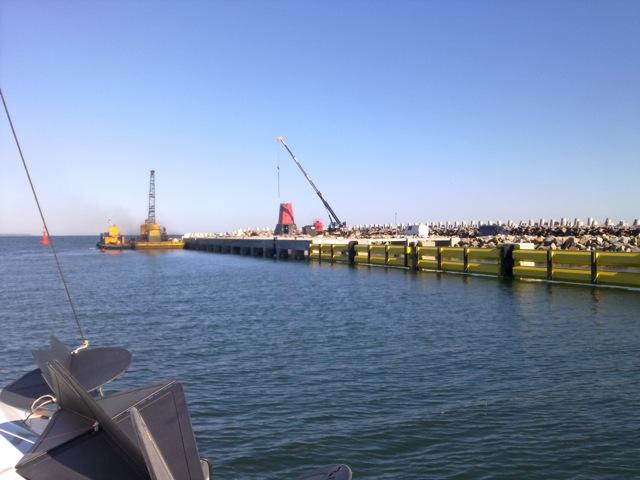 Latarnia morska w Nowym Porcie