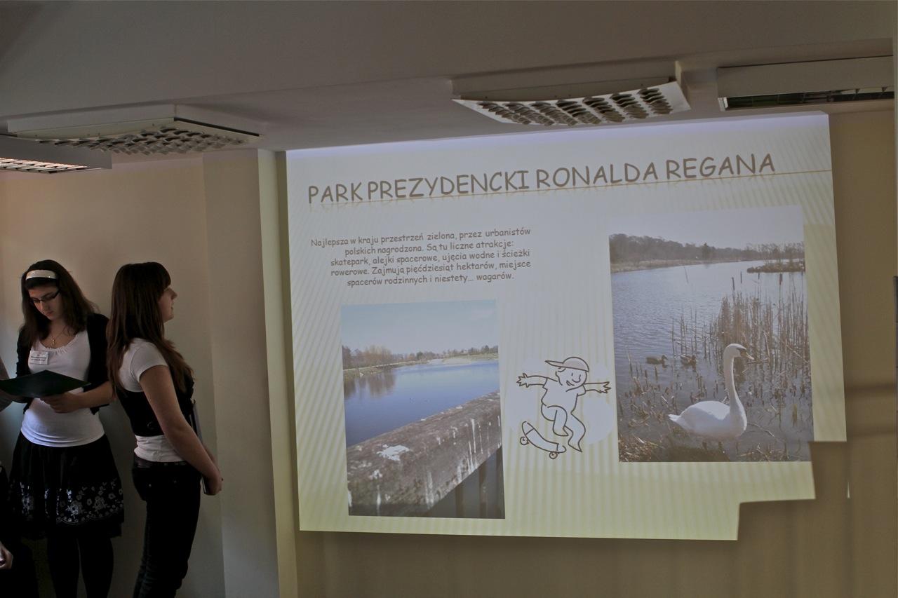 Podczas prezentacji