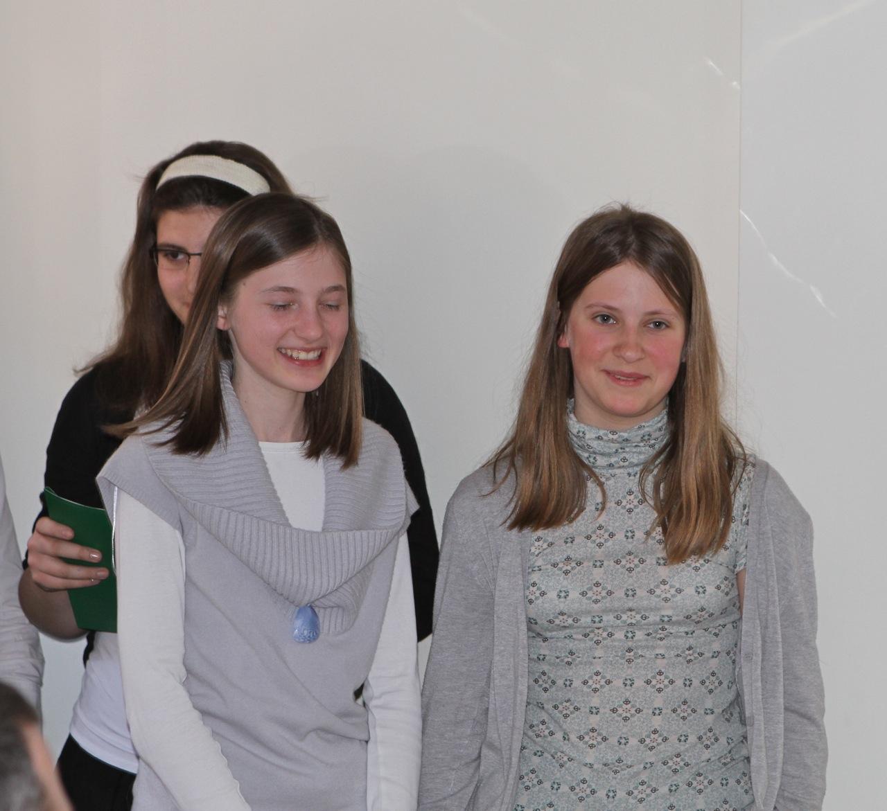 Ewelina Chudziak (z lewej) i Ola Łoboda