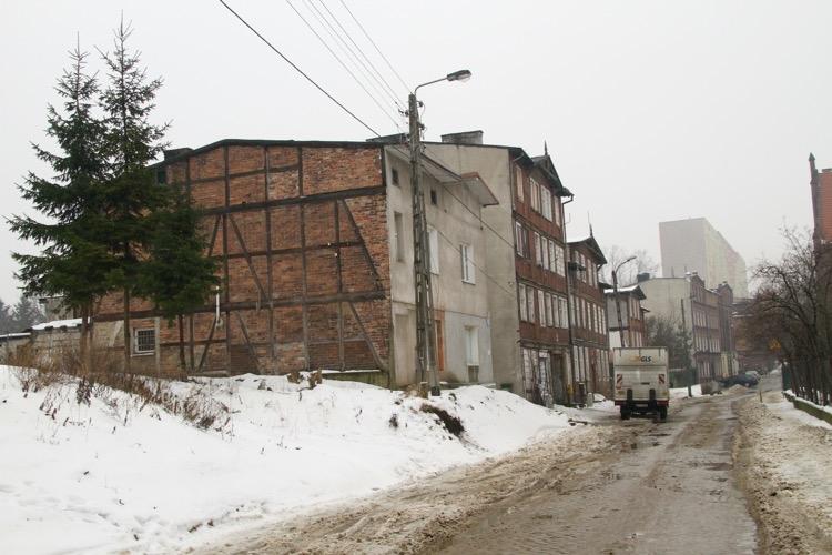 Ulica Malczewskiego - luty 2014 r.