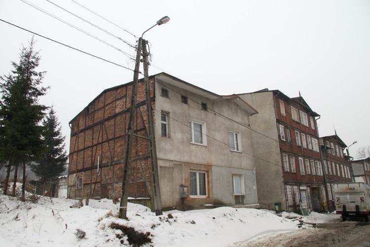 Ulica Malczewskiego  85/87 - luty 2014 r.