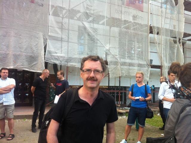 Czarny marsz przeciw przemocy wobec architektury WMG