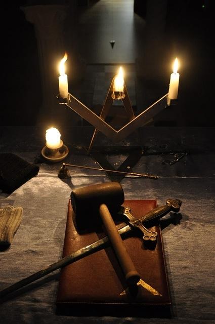 Wnętrze Loży Dzięki uprzejmości Loży Galileusz z Bydgoszczy