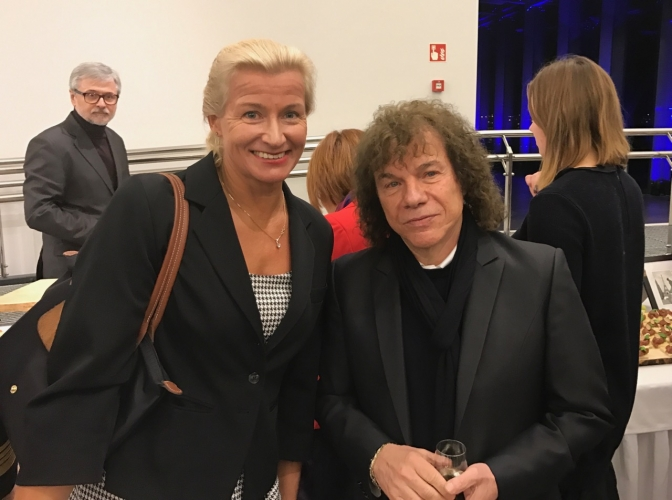 Monika Tarnowska i Richard Cocciante