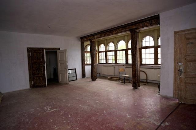 Budynek dawnego klubu Victoria na Ołowiance