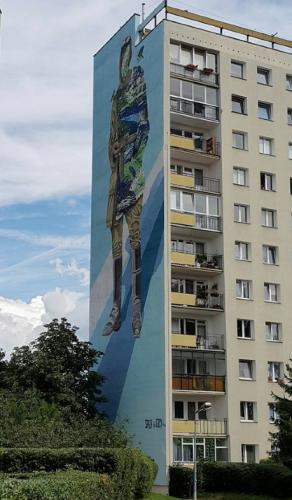 Murale na Zaspie / Fot. Ewa Maciejczyk