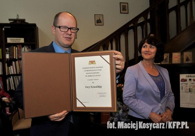 Nagroda m. Opitza / Fot. Maciej Kosycarz / KFP