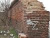 Mur fortecznej bramy kolejowej