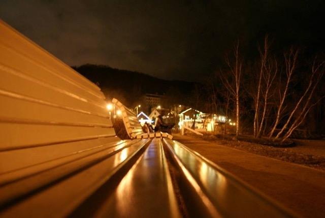 Gdynia Orłowo nocą