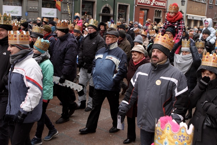 Orszak Trzech Króli w Gdańsku