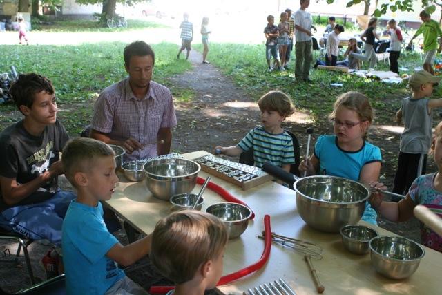 Kronika Dzielnicowa - warsztaty na Oruni