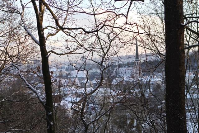 Wzgórze Pachołek - grudzień 2014 r.