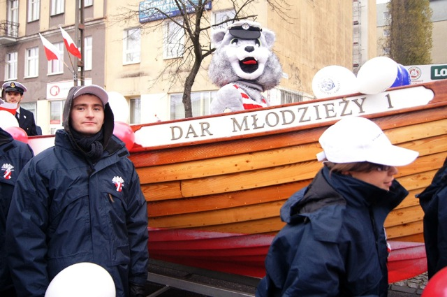 Gdynia - Parada Niepodległości 2013 r.